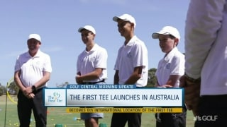 First Tee launches program in Australia