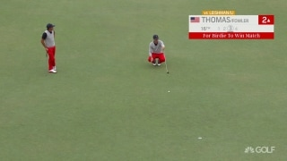Thomas, this time with Fowler, secures a U.S. point