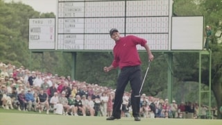 Masters Memorable Moments: 1997, Tiger dominates at age 21