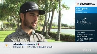 Ancer gained valuable strength, experience in Presidents Cup loss