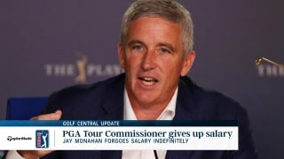 Golf Central Update: Monahan forgoes salary; Nordqvist wins on mini-tour