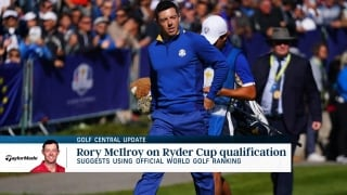 Golf Central Update: McIlroy suggests using OWGR for Ryder Cup