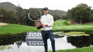 Champion Chats: Cantlay ties personal-best final round to win ZOZO