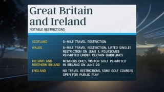 Golf Central Update: Notable restrictions for playing golf abroad