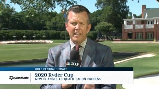 Golf Central Update: Stricker believes players would play Ryder Cup with 50% of fans