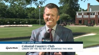 Golf Central Update: Don't count out short-hitters at Colonial
