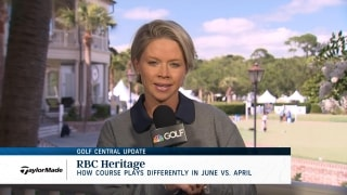 Golf Central Update: How RBC Heritage plays differently in June than April