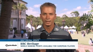 Golf Central Update: OWGR points available for European players at RBC Heritage