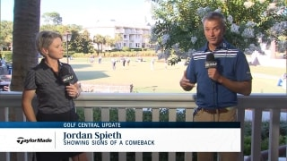 Golf Central Update: Spieth showing signs of a comeback