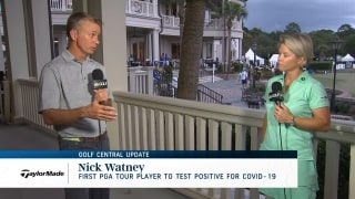 Golf Central Update: First PGA Tour player tests positive for Covid-19, WDs from RBC Heritage