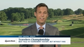 Golf Central Update: Travelers Championship's best field ever is without fans