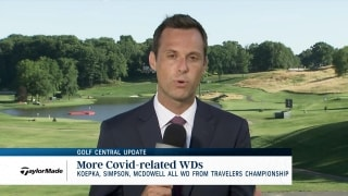 Golf Central Update: More COVID-related WDs from Travelers