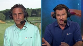 Golf Central Update: Hughes (60) leads by 3 after first day at Travelers