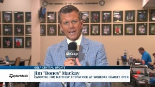 "Golf Central Update: Jim ""Bones"" Mackay to caddy for Fitzpatrick at Workday Charity Open"