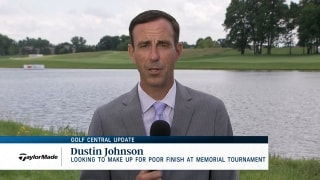 Golf Central Update: DJ looks to make up for poor finish at Memorial
