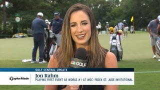 Golf Central Update: Rahm playing first event as world No. 1