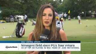 Golf Central Update: WGC-FedEx field is strongest since Tour's return