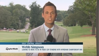 Golf Central Update: Simpson aims for No. 2 spot in FedExCup ranking