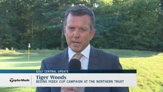 Golf Central Update: Tiger begins playoff campaign at The Northern Trust