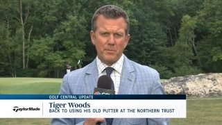 Golf Central Update: Woods back to old putter at The Northern Trust