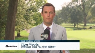 Golf Central Update: Tiger's struggles since PGA Tour restart