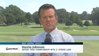 Golf Central Update: DJ enters Tour Championship with 2-stroke lead