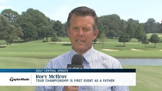 Golf Central Update: Rory's first event as a father