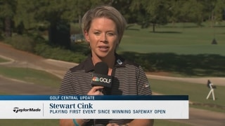 Golf Central Update: Cink's first start since winning Safeway Open