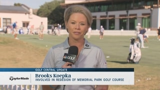 Golf Central Update: Koepka's involvement in Memorial Park redesign