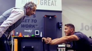 Feherty Top-10 moments of 2019: Koepka teaches Feherty how to work out