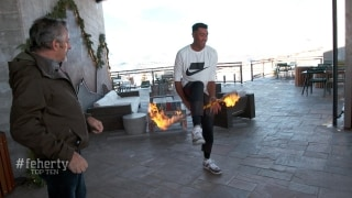Feherty Top-10 moments of 2019: Finau plays with fire