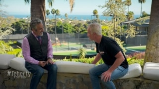 Feherty Top-10 moments of 2019: McEnroe learned to yell from his father