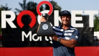 DeChambeau continues climb up Official World Golf Ranking