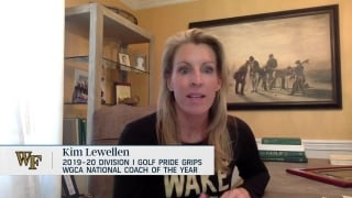 Wake's Lewellen: WGCA Coach of the Year award represents 'heckuva lotta people'