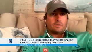 Kisner: Tour's June return 'was aggressive,' now 'I'm very comfortable'