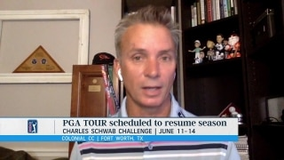 Golf Central Update: New details of 'layered testing plan' for Tour players