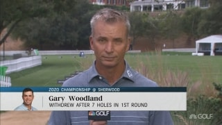 Golf Central Update: Woodland WDs after seven holes at Zozo Championship