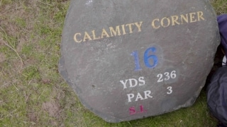 How Hole 16 at Royal Portrush earned the name 'Calamity Corner'