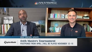 Golf Central Update: Masters moved to mid-November