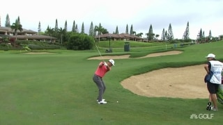 Schauffele (68) overtakes Reed for 36-hole lead at TOC