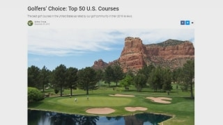 Golf Advisor Golfers' Choice 2020