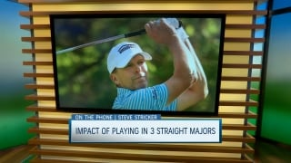Stricker wearing many hats as he preps for Senior PGA Championship
