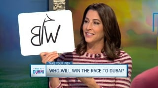 Take Your Pick: Who will win Race to Dubai?