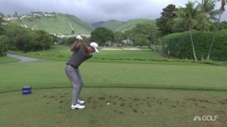 Steele (66) climbs as Morikawa (70) falls on Day 2 of Sony Open