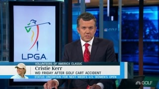Kerr withdraws from VOA Classic after golf cart accident