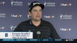 Keegan Bradley runner-up to Sam Burns at Valspar