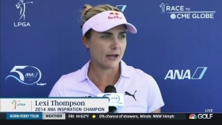Thompson ready to let 'true talent show' at ANA Inspiration