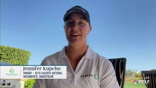 Kupcho's learned to 'stay patient' on golf course