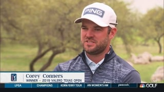Conners finding consistency ahead of Valero