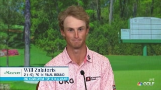 What Zalatoris learned about himself at Augusta